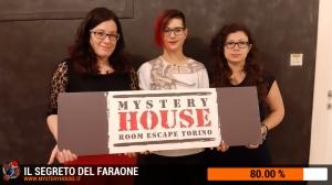 escape room mystery house torino Il segreto del faraone