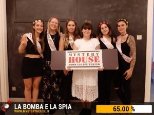 escape room mystery house torino La Bomba e la Spia