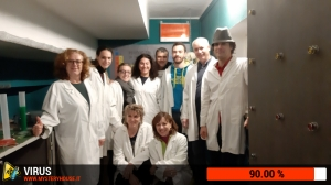 escape room mystery house torino Virus