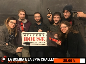 escape room mystery house torino Challenge